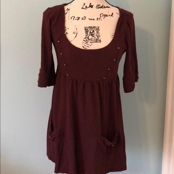 Anthropologie Dresses & Skirts - Anthropologie kimchi's blue mini dress, Sz m